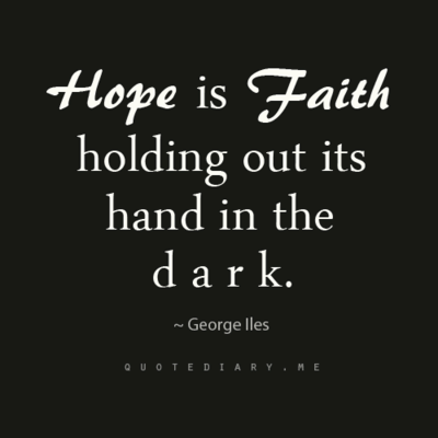 HOPE IS FAITH