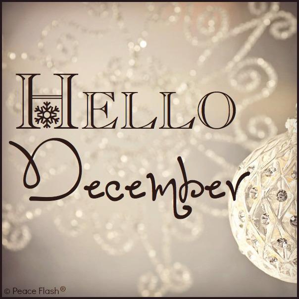 Welcome December!!!!!  sondasmcschatter