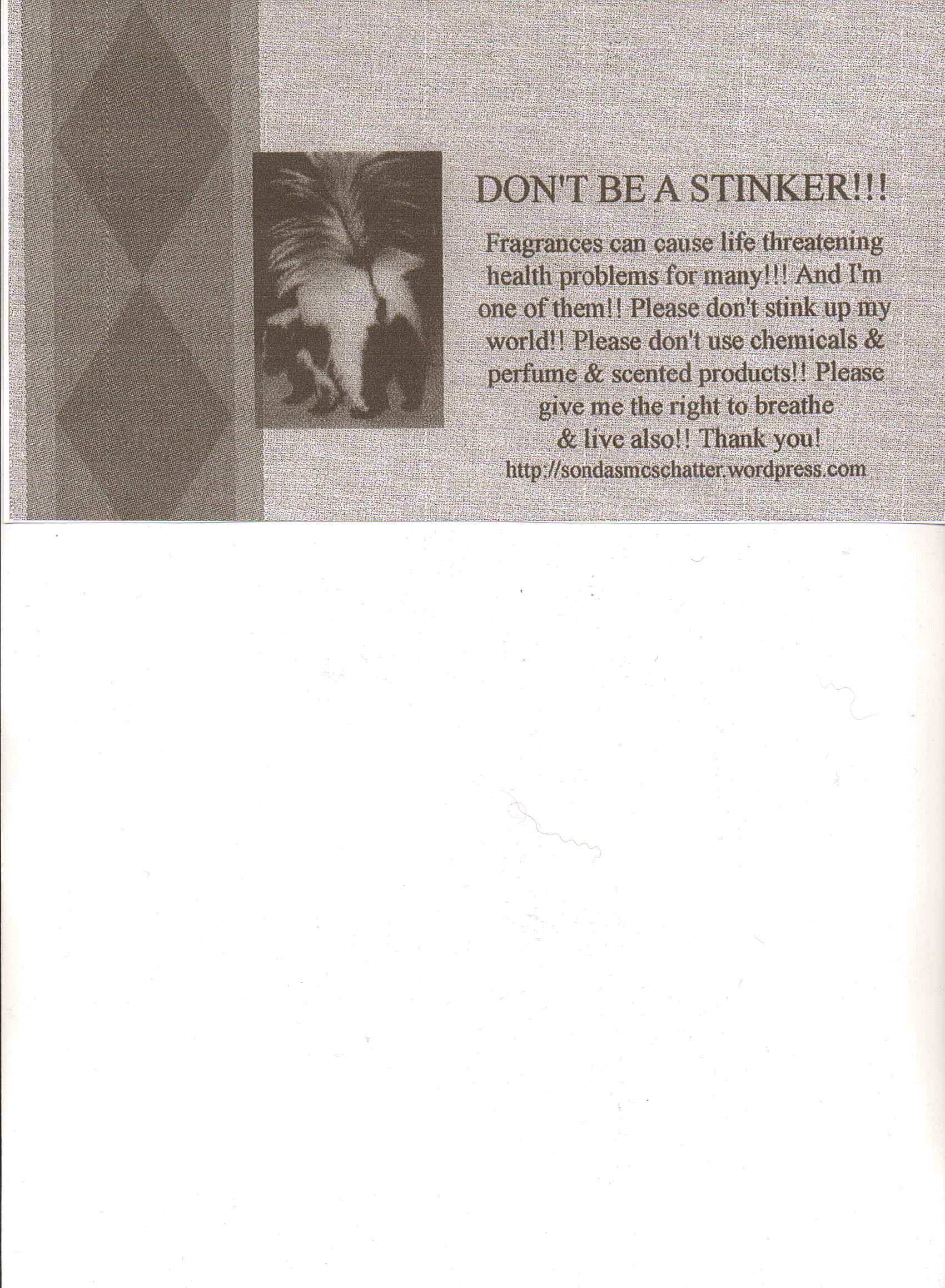 Copy of business card & dancing | sondasmcschatter