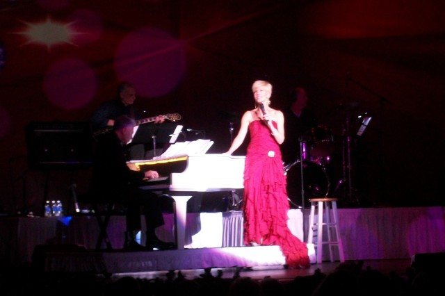debbie boone singing at piano