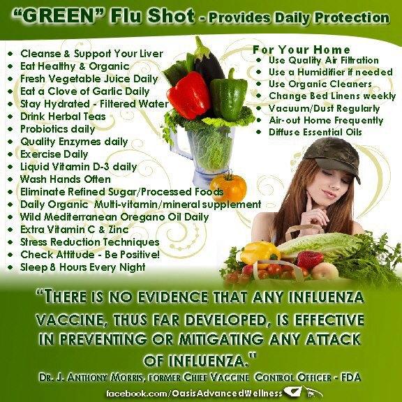 GREEN FLU SHOT