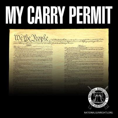 MY CARRY PERMIT