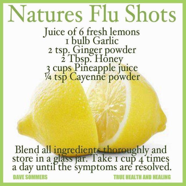 natural for flu
