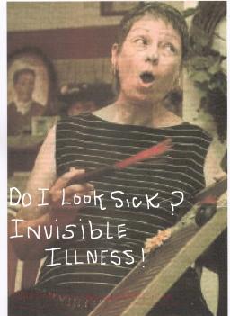 do I look sick meme invisible illness