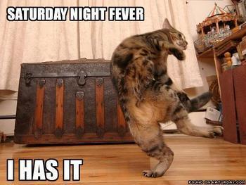 sat night fever-