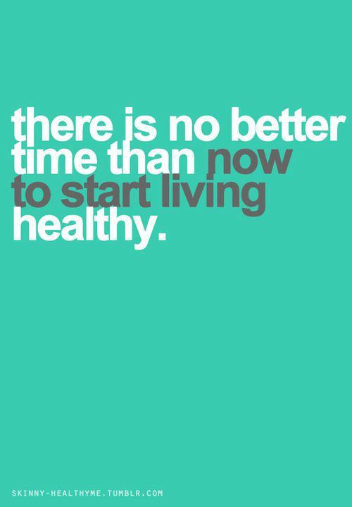 start living healthy