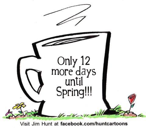 12 days until Spring