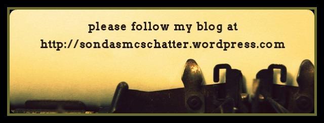 typewritter follow my blog