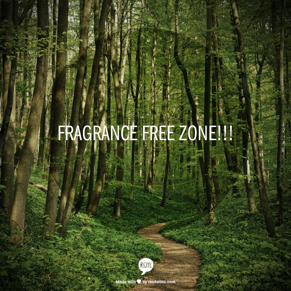 FRAGRANCE FREE 1