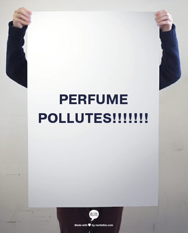 perfume pollutes