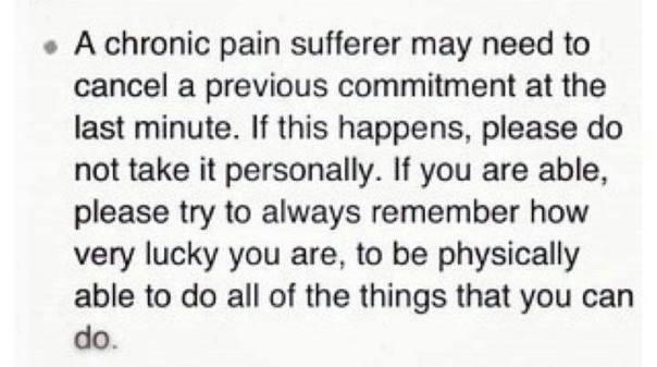 CRONIC PAIN