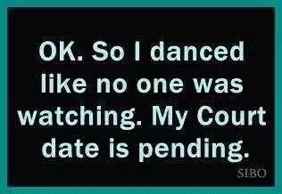 danced like no one watching