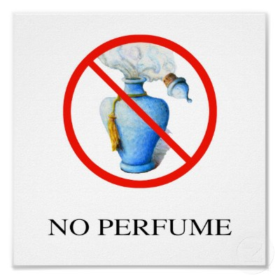 no perfume sign