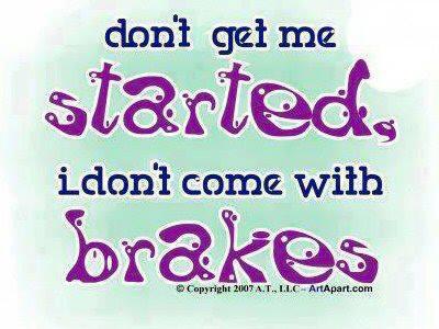 NO BRAKES