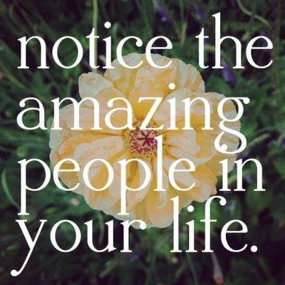 AMAZING PEOPLE IN YOUR LIFE