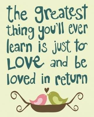 LOVED IN RETURN