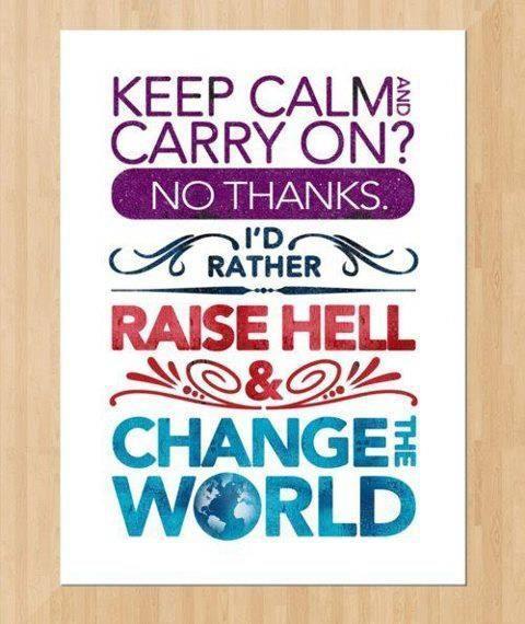 keep calm--