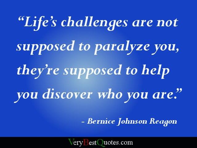 life challanges