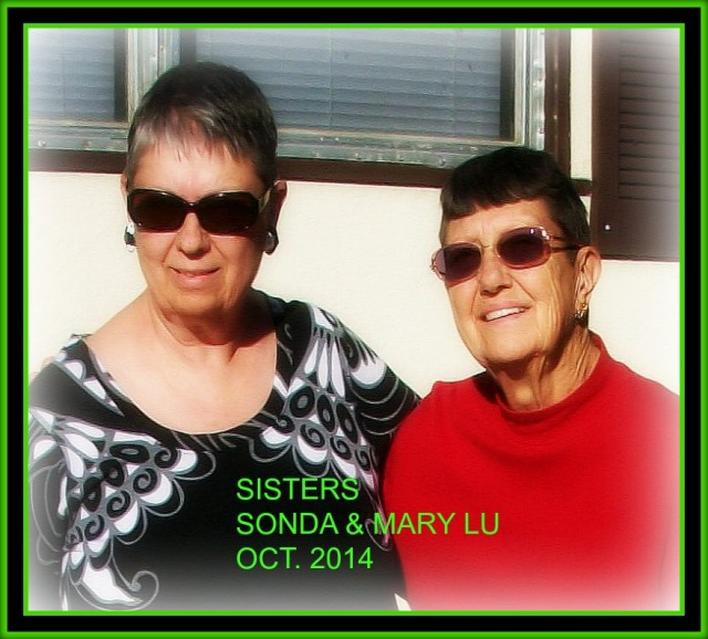 MARY LU & SONDA CLOSE REDONE UP