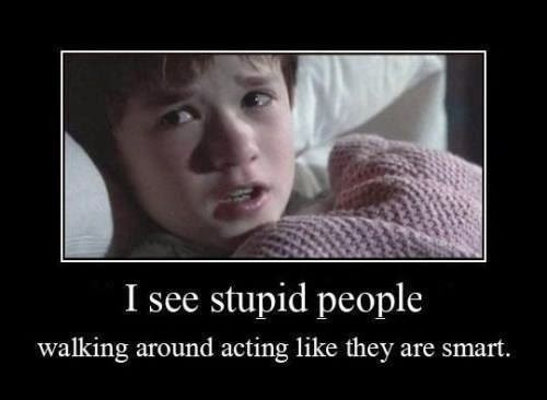 STUPID PEOPLD