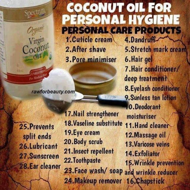 COCONUT OIL-----