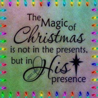jesus presents