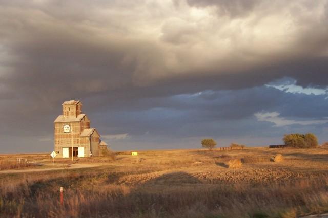 prairie sun going down untouched 6