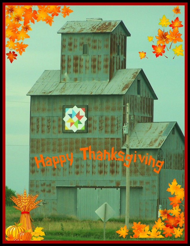 HAPPY THANKSGIVING-- ELEVATOR