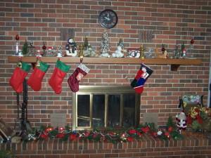 fireplace upstairs 1
