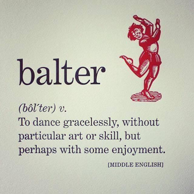 DANCE BALTER