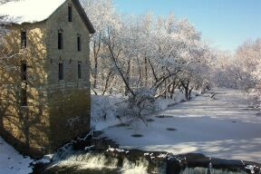 CP MILL WITH SNOW SONDA BRUCE