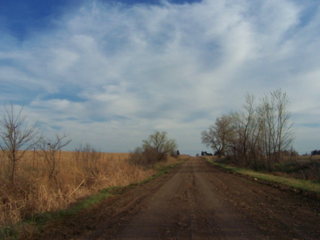 KANSAS DIRT ROAD