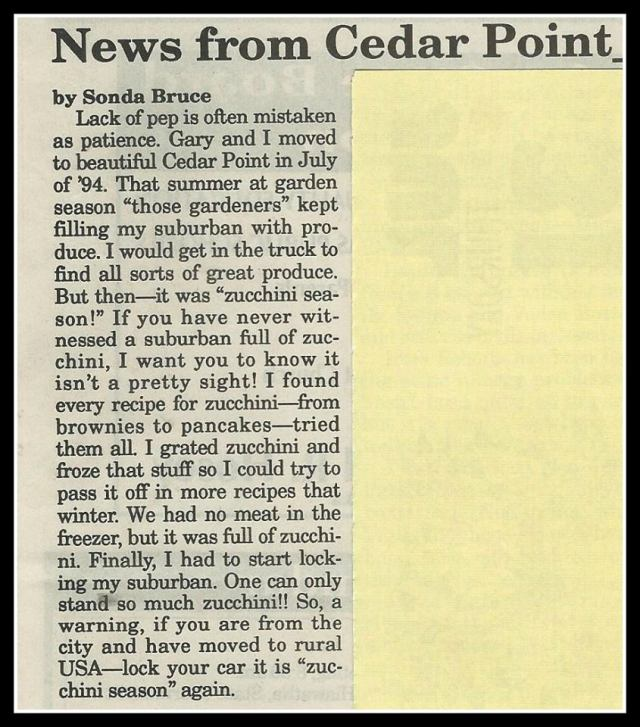 CEDAR POINT NEWS