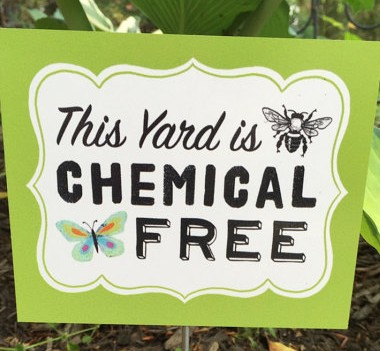 CHEMICAL FREE YARD