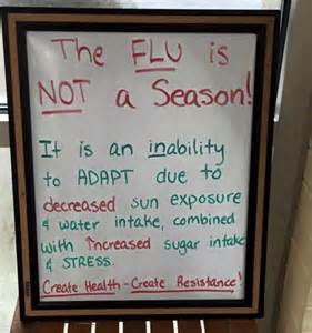 FLU IS NOT A SEASON