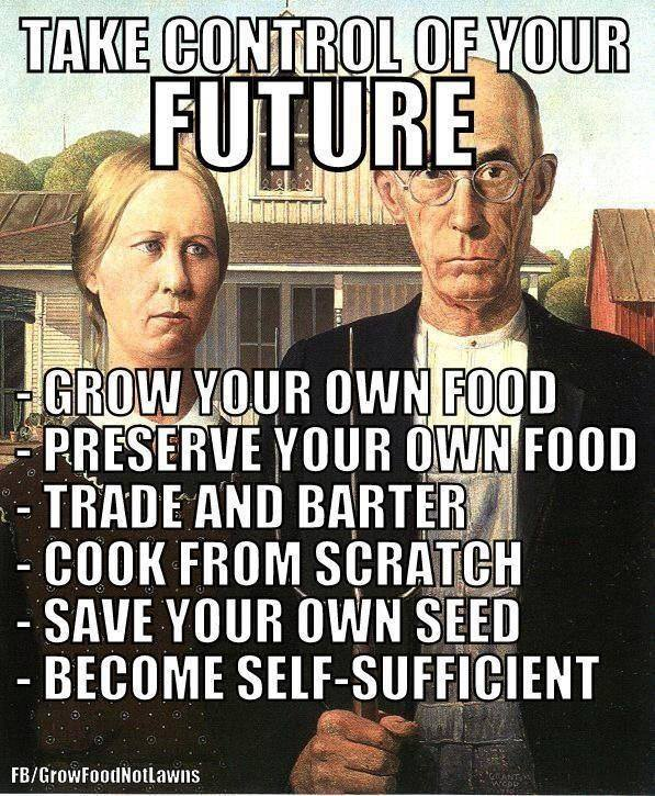 CONTROL YOUR FUTURE