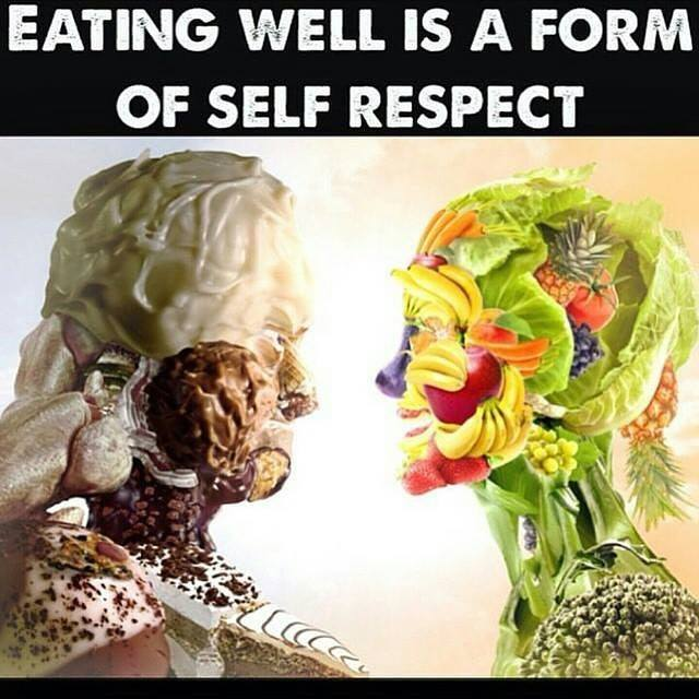 EATING WELL IS