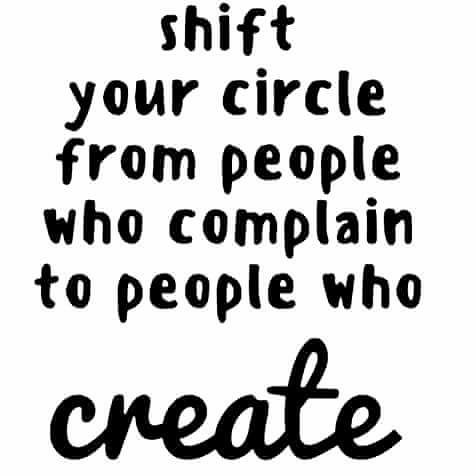 PEOPLE WHO CREATE