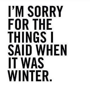 IT WAS WINTER
