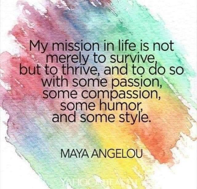 MY MISSION