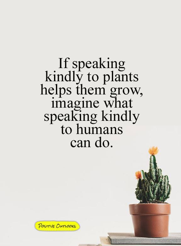 SPEAKING TO PLANTS