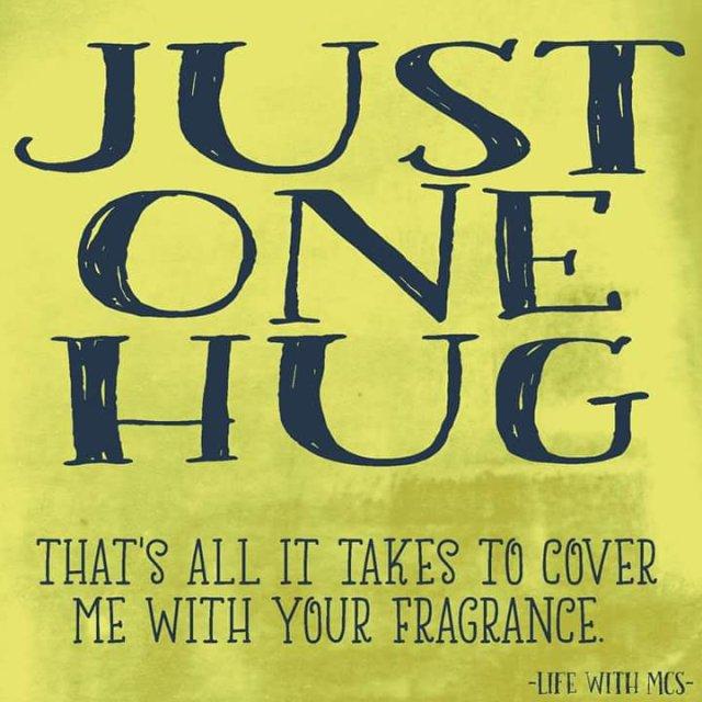 JUST ONE HUG